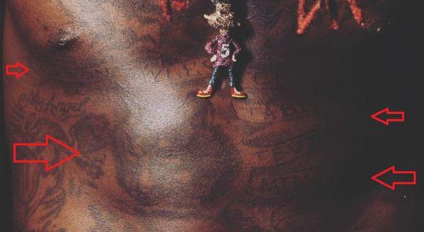 Montrezl Harrell beast banner tattoo