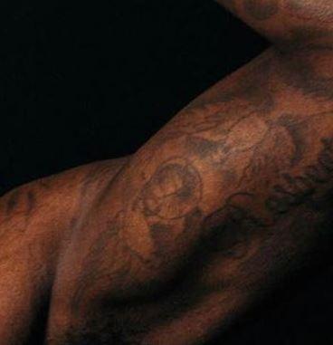 Montrezl Harrell bird tattoo