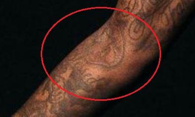 Montrezl Harrell blessed tattoo