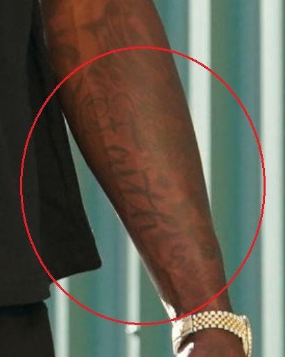 Montrezl Harrell faith tattoo