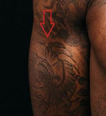 Montrezl Harrell girl tattoo
