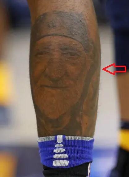 Montrezl Harrell portrait tattoo