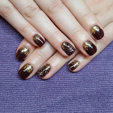 New Year's Nail Art