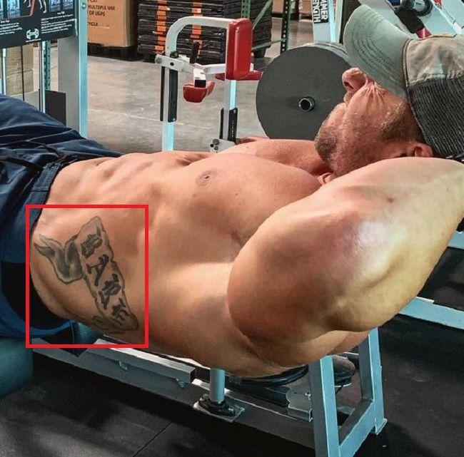 Nick Bare-Tattoo-Torso