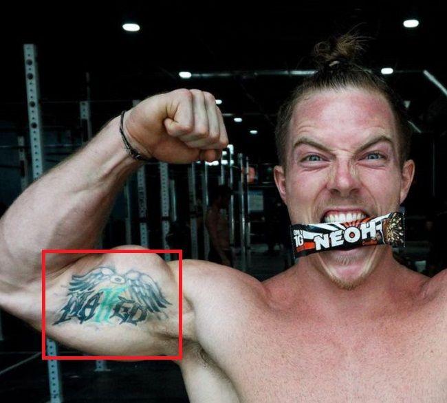 Noah Ohlsen-Arm-Tattoo