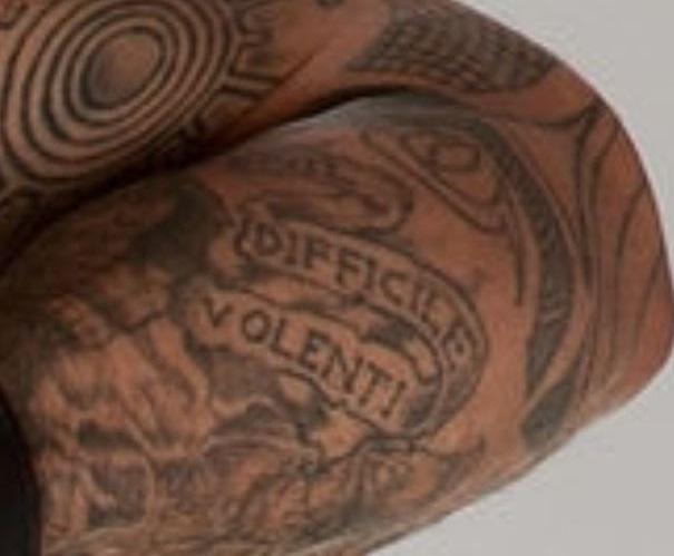Sakara forearm tattoo