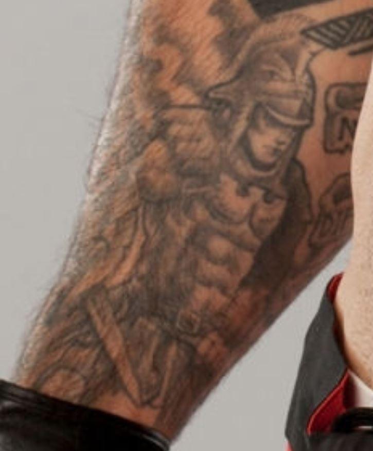 Sakara right arm tattoo
