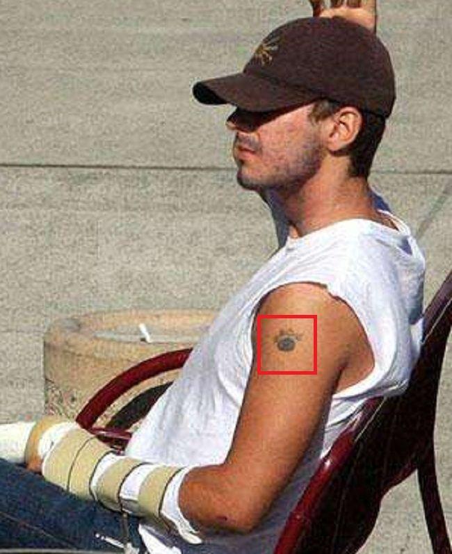 Shia LaBeouf-Arm-Tattoo