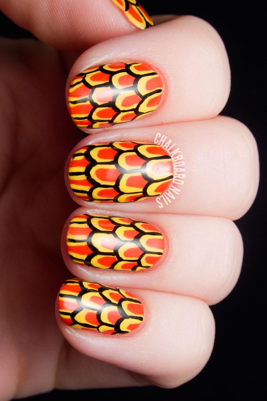 Thanksgiving Nail Art
