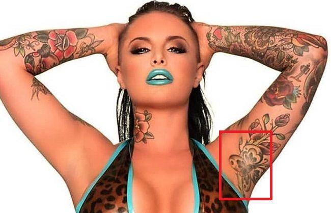 Christy Mack-Butterfly-Tattoo
