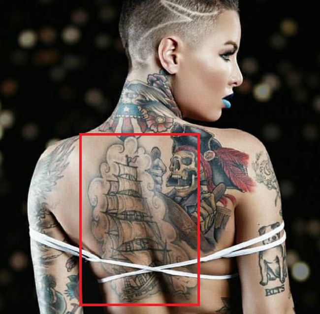 Christy Mack-Ship-Tattoo