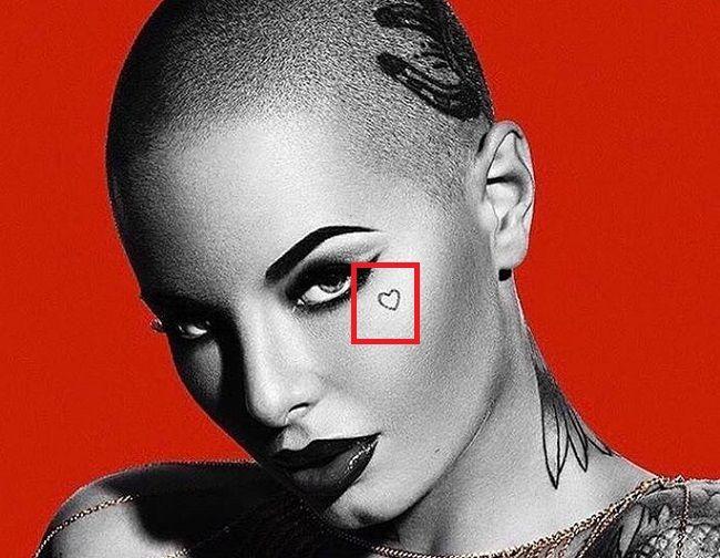 Christy Mack-Tiny Heart-Tattoo