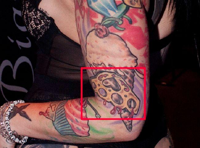 Draven Star-Tattoo-Arm