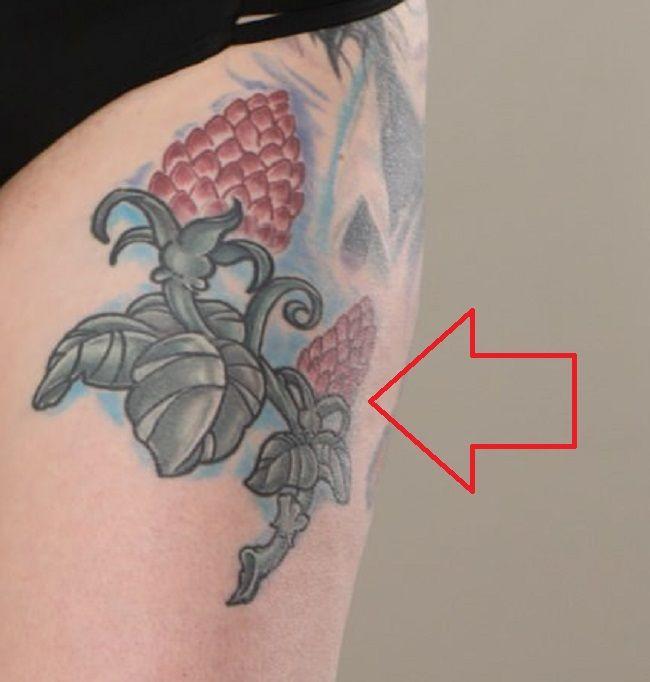 Draven StarThigh-Tattoo