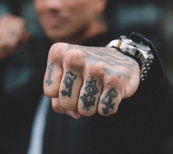 Erick 1984 tattoo
