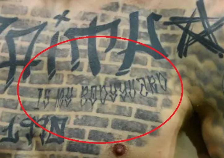 Fyodor Chest tattoo