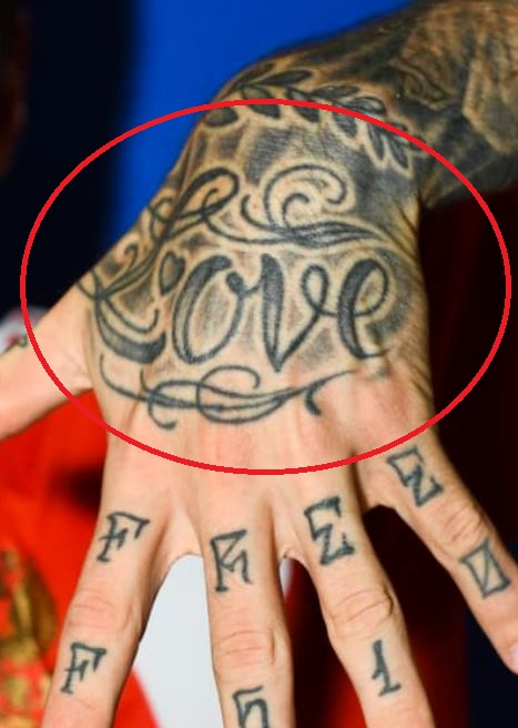Fyodor Love Tattoo