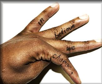 Gilbert finger tattoo