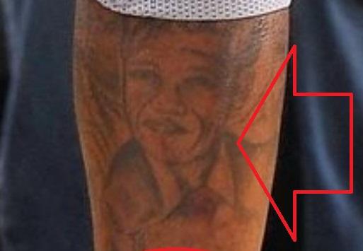 Gilbert portrait tattoo