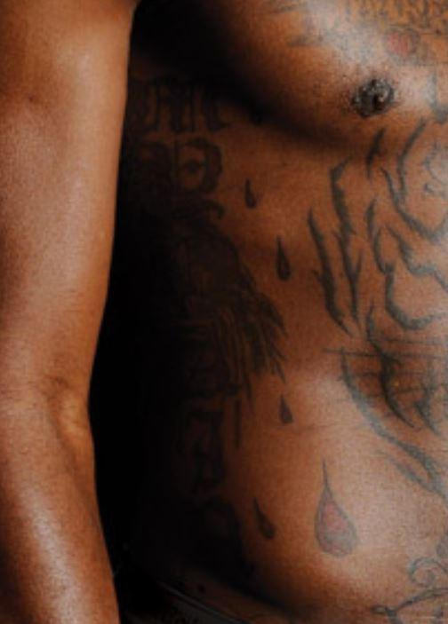 Gilbert side body tattoo