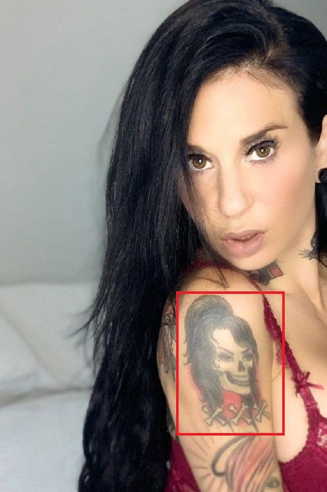 Joanna Angel-Arm-Tattoo