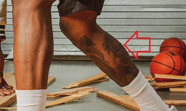 Terry Rozier-Leg-Tattoo