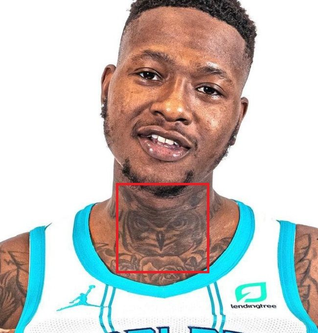 Terry Rozier-Owl-Tattoo