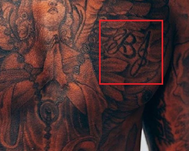 Terry Rozier-Tattoo-Chest