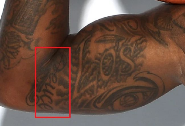 Terry Rozier-TattooArm-Arm