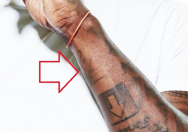 Terry Rozier-Wrist-Tattoo-Left-Wrist