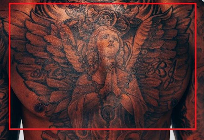 Terry0Chest-Angel-Tattoo