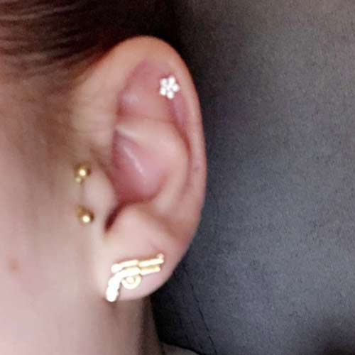 Celebrities With Surface Piercing