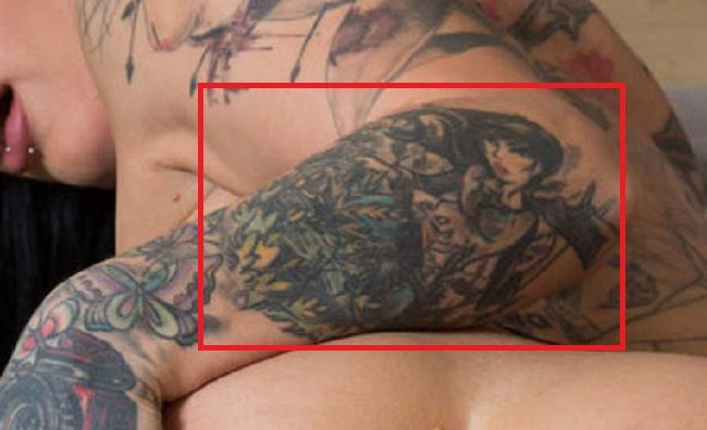 jessie lee arm tattoo