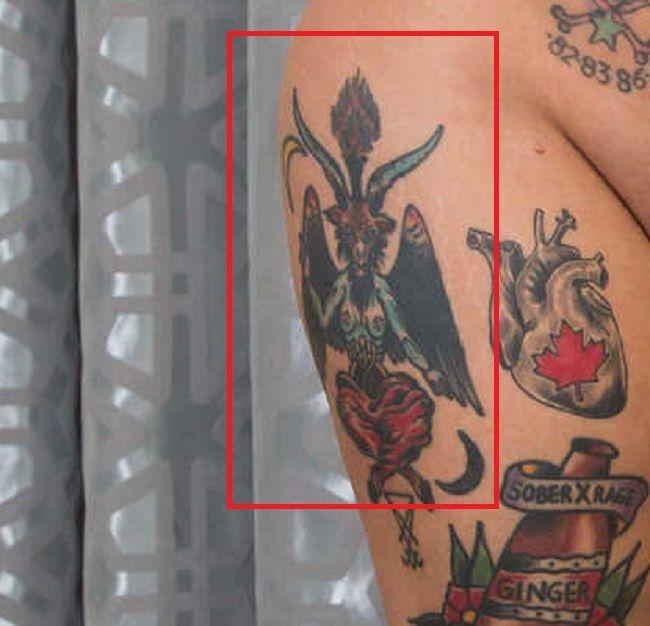 jessie lee right thigh tattoo
