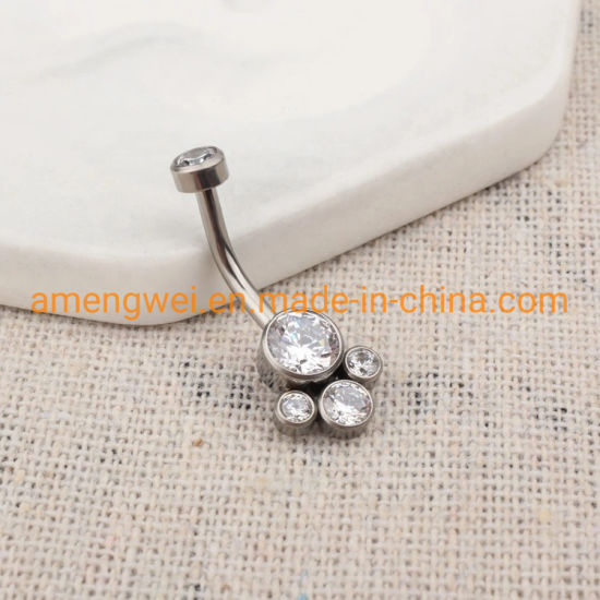 titanium belly piercing