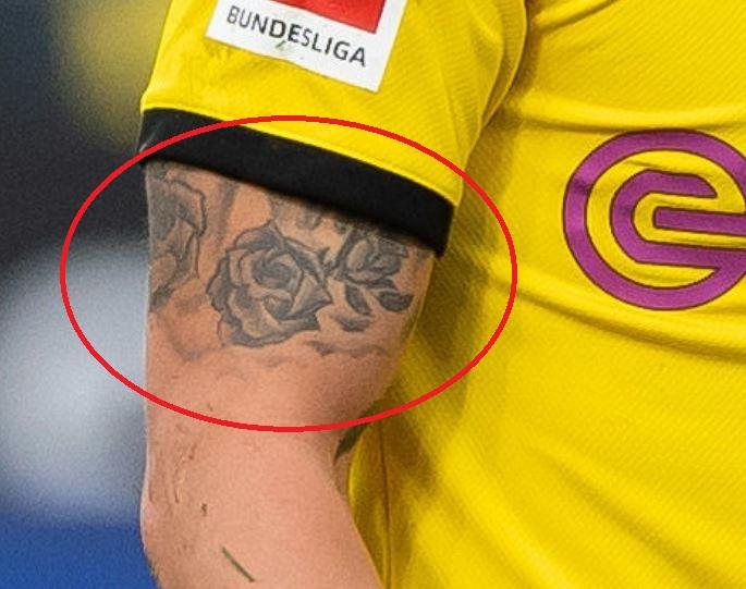 Axel roses tattoo