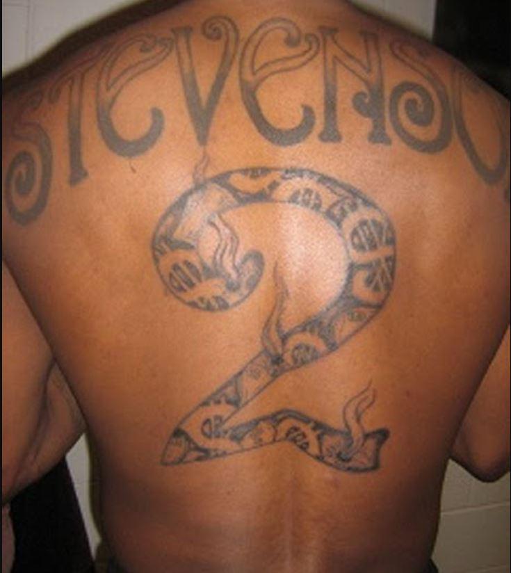 DeShawn SEVENSON Tattoo