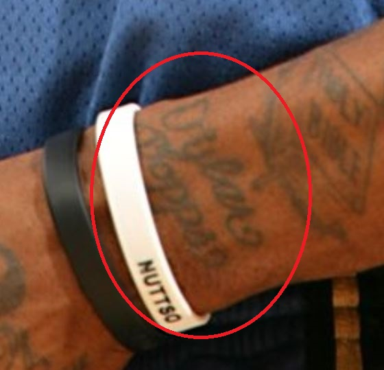 DeShawn writing tattoo