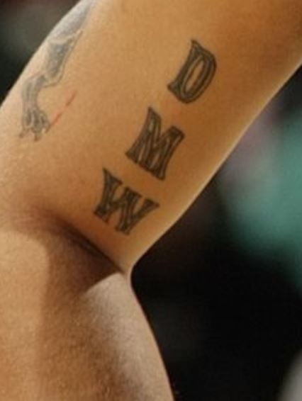 Deron DMW Tattoo