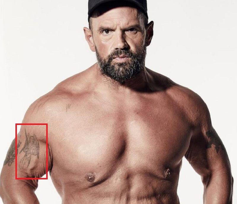 Ethan Suplee-Angel-Tattoo