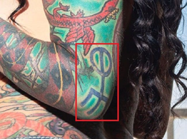 Jenevieve Hexxx-Arm-Tattoo-Left Arm