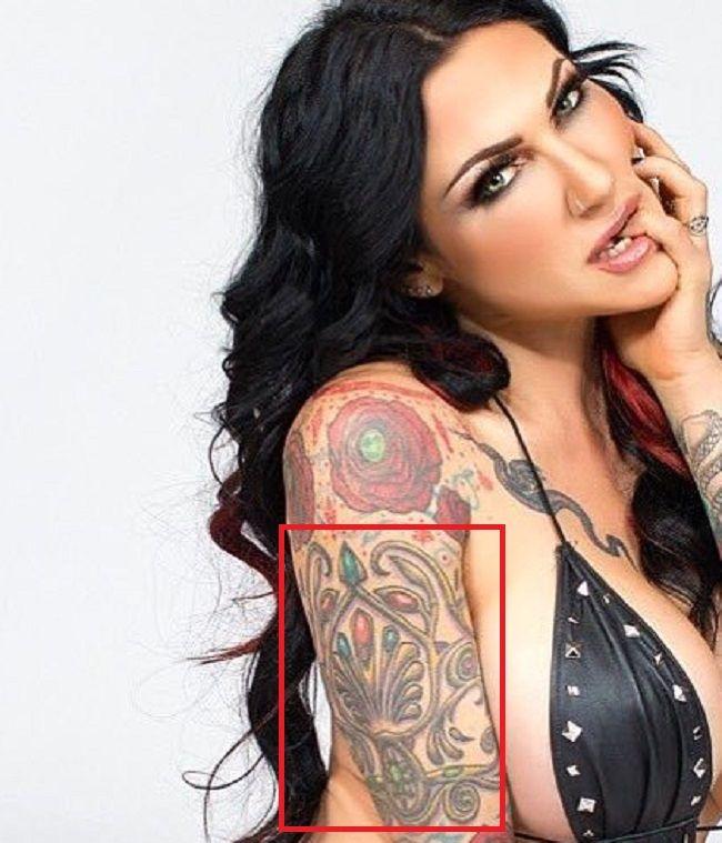 Jenevieve Hexxx-Arm-Tattoo