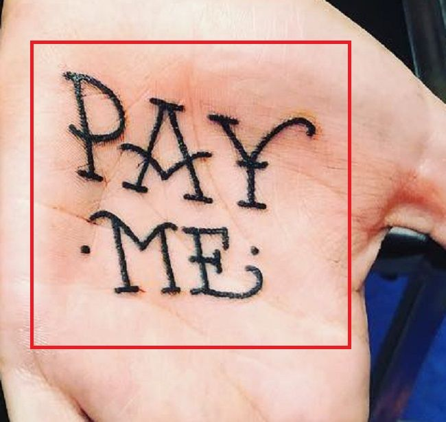 Leigh Raven-PAY ME-tattoo