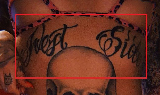 Leigh Raven-West Side-Tattoo
