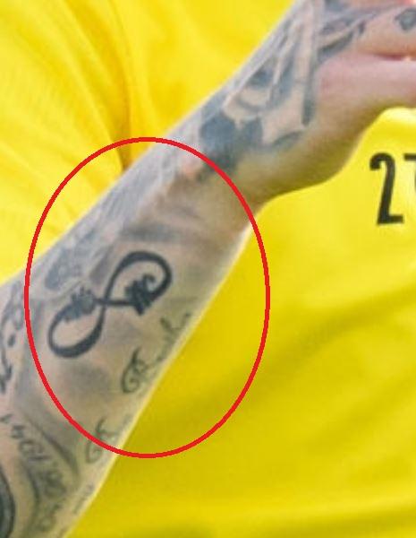 Marius infinity tattoo