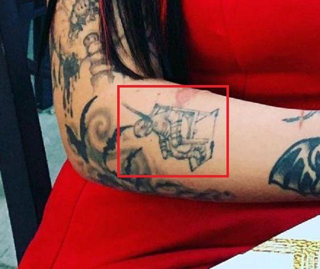 Ophelia Rain-Right Forearm-Tattoo