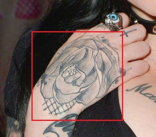 Ophelia Rain-Right-Hand-Tattoo