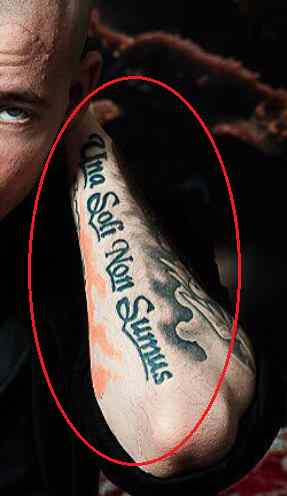 Roman Troev quote tattoo