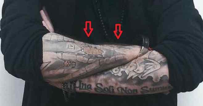 Roman Troev roach tattoo