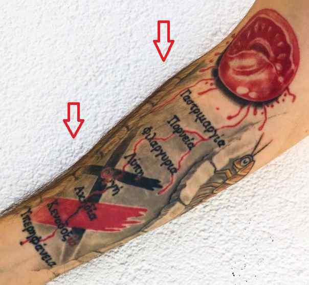 Roman Troev words tattoo1
